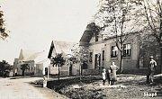Dům čp. 30 býval v padesátých letech koloniálem.