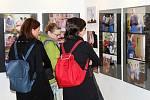 Slavnostní zahájení výstavy Krása stáří - všední život vinařské obce Kobylí.