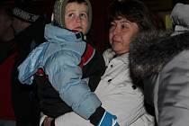 Rozsvícení vánočního stromu v Petrovicích