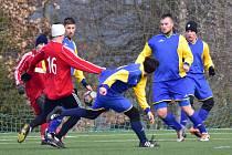Fotbalisté Nového Strašecí v generálce na jarní část krajského přeboru porazili Kralovice 4:3.