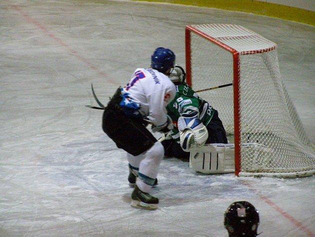 Fotografii z domácího zápasu mezi HC Rakovník - HC Příbram