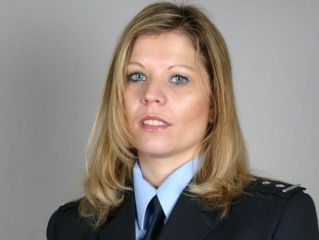 Mluvčí policie Lenka Uriánková