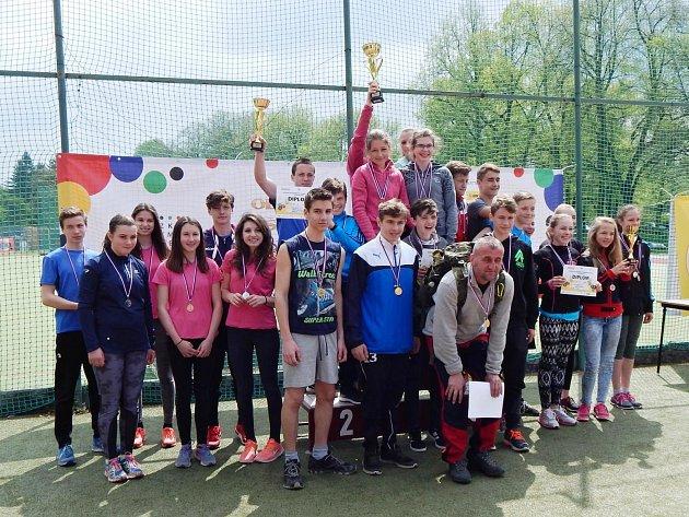 Chlapci a dívky z Rakovnicka se zúčastnili okresního kola Odznaku Všestrannosti Olympijských Vítězů.
