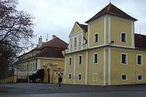 Domov důchodců v Kolešovicích.