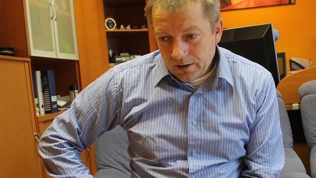 Ředitel KC Rakovník Jiří Karel