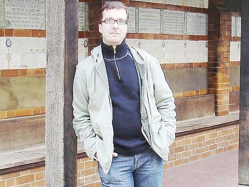 David Laňka spisovatel prožil dětství  v Novém Strašecí