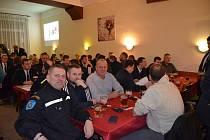 V pátek vpodvečer se vrestauraci Sport konala Výroční schůze Sboru dobrovolných hasičů vNovém Strašecí.