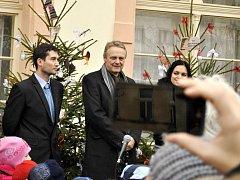 Slavnostní vyhlášení soutěže o nejlépe ozdobený vánoční stromeček