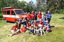 Mladí senomatští hasiči.