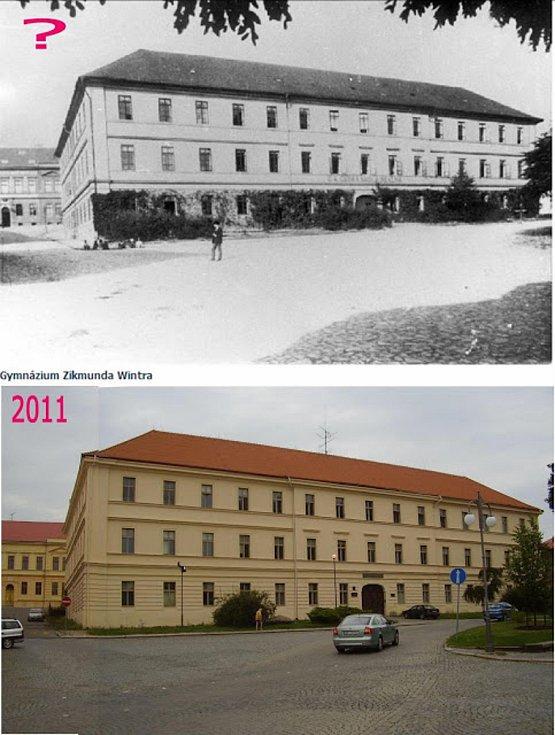 Rakovnické gymnázium.