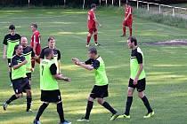 Kolešovice padly v derby s Kněževsí vysoko 0:9.