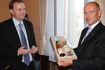 Marcel Chládek přivítal delegaci z Itálie