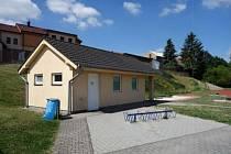 Sportovní areál Kocourek - plán nového zázemí.