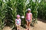 V bludišti na děti čeká nejen zábava, ale dozví se i zajímavé informace o ekologii.