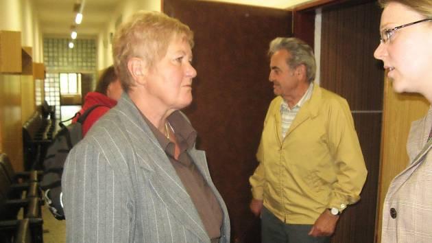 Obec Skryje zastupuje starostka Jarmila Pajerová