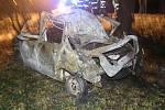 Tragická nehoda u Řevničova