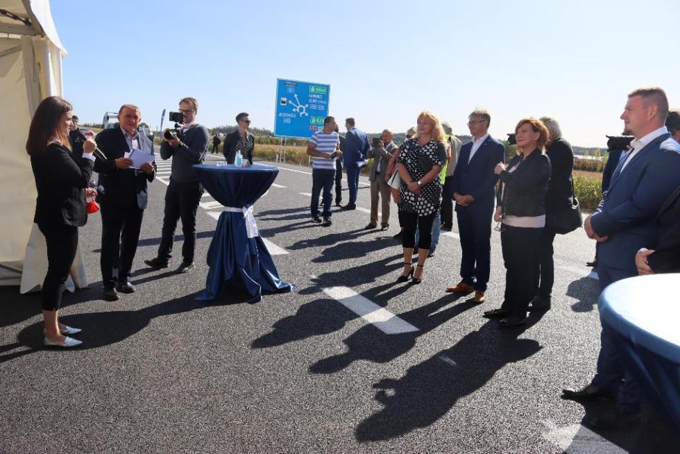 Zahájení druhé etapy stavby obchvatu Jesenice.