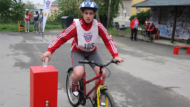 Závody mladých cyklistů