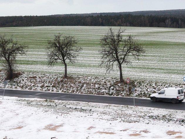 Sníh na Rakovnicku