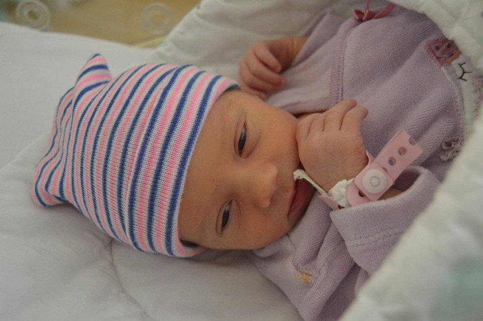 MAGDALENA KONOPÁSKOVÁ, PAVLÍKOV. Narodila se 15. listopadu 2019. Po porodu vážila 2,4 kg a měřila 46 cm. Rodiče jsou Pavla a Marek. Sestra Anna.