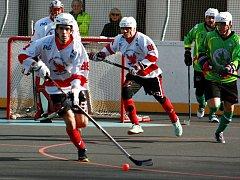 Rakovničtí hokejbalisté v dalším kole extraligy prohráli se Sudoměřicemi 2:5.
