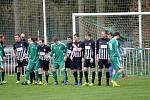 Z divizního fotbalového utkání Tatran Rakovník - Brandýs nad Labem (1:0)