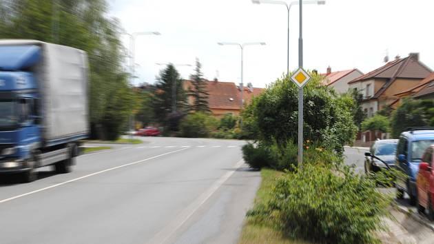 Plzeňská ulice v Rakovníku