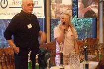 Olivia Prokopová právě pronáší vítěznou řeč