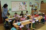 Třídu 1. B vede třídní učitelka Iveta Brichová.
