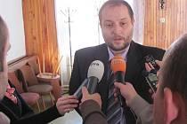 Tisková konference v Rakovníku k ukončenému kriminálnímu případu