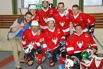 Rakovničtí hokejbalisté skončili na turnaji osobností čtvrtí