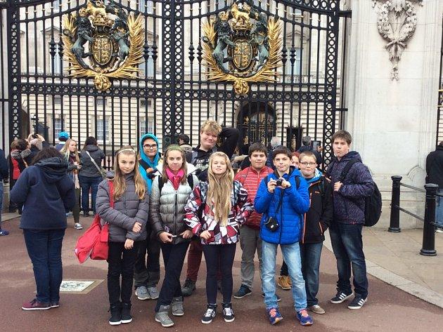 Mutějovičtí školáci ve Velké Británii