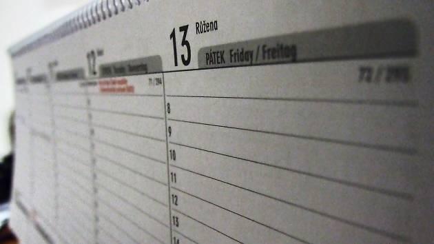 Pátek třináctého. Ilustrační foto