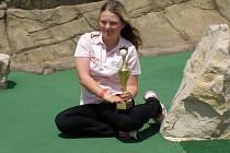 Olivia Prokopová se svojí nejcenější trofejí
