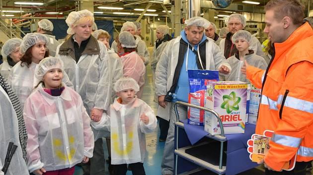 Den otevřených dveří v  Procter & Gamble – Rakona