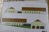 Vizualizace nového obecního centra