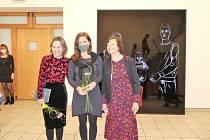 Slavnostní zahájení výstavy Pars pro toto v Nové síni Rabasovy galerie v Rakovníku.