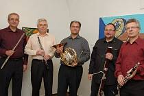 Koncert kvintetu v Heroldově síni