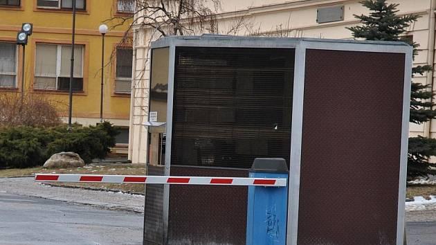 """""""Výběrčí"""" budka - Husovo náměstí"""