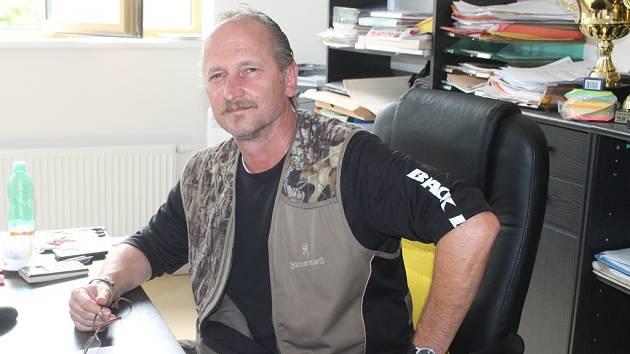 Jiří Lengyel, ředitel Městských lesů Rakovník