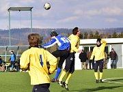 Fotbalisté rakovnického SK zdolali v přípravě Tuchlovice 2:1.