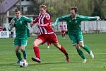 Fotbalová divize B: Brozany - Rakovník 1:2.