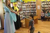 Pasování na čtenáře v rakovnické knihovně
