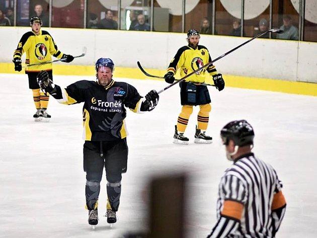 Hokejisté HC Rakovník prohráli v Mělníku vysoko 1:6.