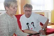 Žáci z Domova Domino dostali tablety