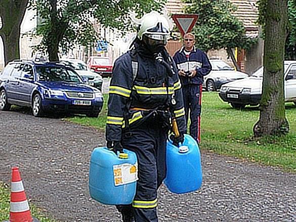 Železný hasič 2010 Kněževes