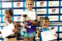Rakovnickým krasobruslařkám se na závodech v Chomutově dařilo. Lucie Šilerová získala zlato, Kateřina Hrdličková bronz.