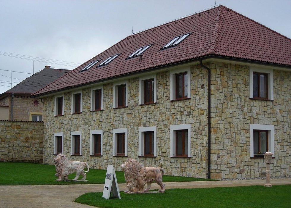 Hotel Lions v Nesuchyni.