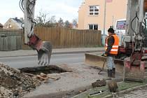 Oprava Plzeňské v Jesenici