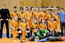 Rakovničtí starší žáci - pozemní hokej.